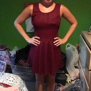 Dresses & Skirts - Charlotte Russe Maroon dress